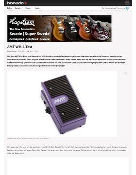 AMT WH-1 Test