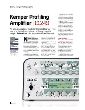 Profiling Amplifier Rack BK