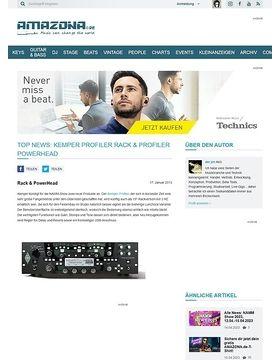 Top News: Kemper Profiler Rack & Profiler PowerHead