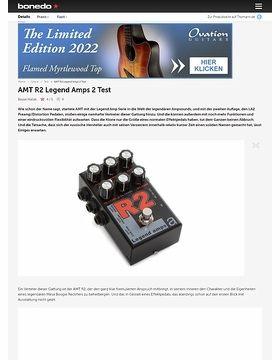 AMT R2 Legend Amps 2 Test