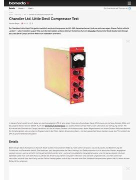 Chandler Ltd. Little Devil Compressor Test