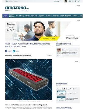 Haken Audio Continuum Fingerboard Half Size & Full Size