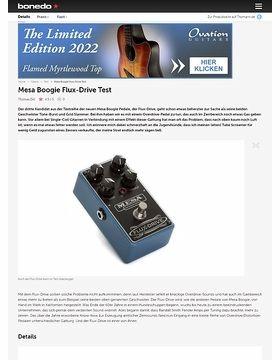 Mesa Boogie Flux-Drive Test
