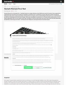 Test Preview: Numark Mixtrack Pro 2