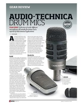 AUDIO-TECHNICA DRUM MICS