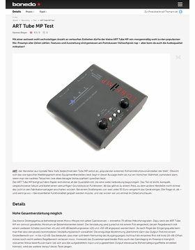 ART Tube MP Test
