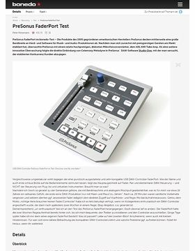 PreSonus FaderPort Test