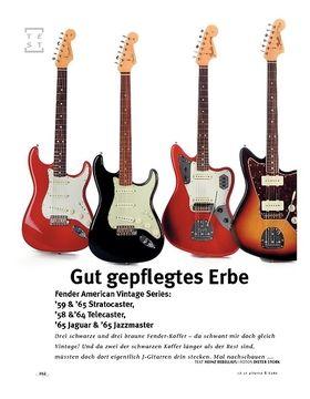 Fender American Vintage Series!