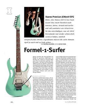 Ibanez Premium JEM70V-SFG, E-Gitarre