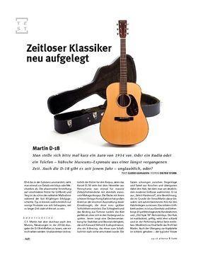 Martin D-18, A-Gitarre
