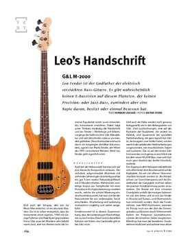 G&L M-2000, E-Bass