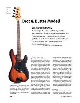 Sandberg Electra VS4, E-Bass
