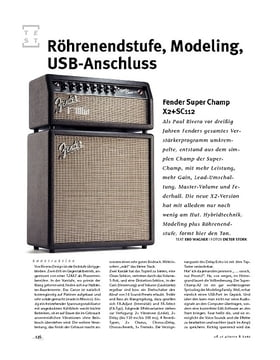 Fender Super Champ X2+SC112, Mini-Stack
