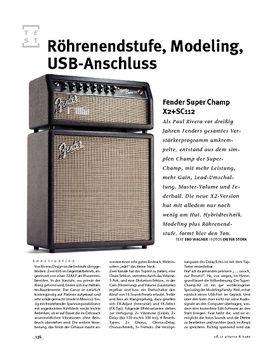 Fender Super Champ X2+SC112, Mini-Stack