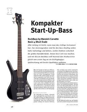 RockBass Corvette Basic 4 Short Scale, E-Bass