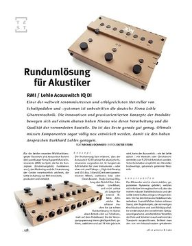 RMI / Lehle Acouswitch IQ DI, Acoustic-Switcher