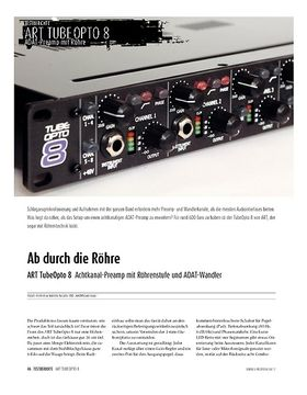 ART TubeOcto 8 − Achtfach Preamp/ADAT-Interface