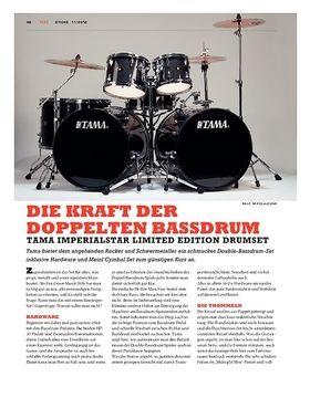 Tama Imperialstar Ltd. Edition Double Bassdrum Set