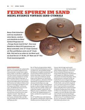 Meinl Byzance Sand Cymbals