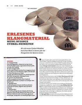 Meinl Byzance Cymbal-Neuheiten 2012