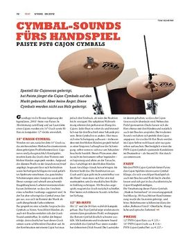 Paiste PST8 Cajon-Cymbals