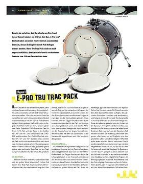 Test: Pearl E-Pro Tru Trac Pack