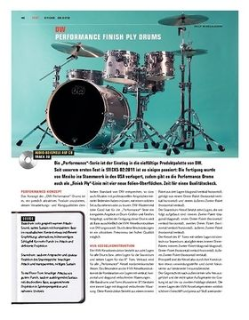 DW Performance Finish Ply Drums