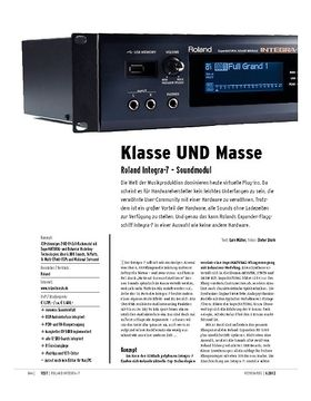 Roland Integra-7 – Soundmodul