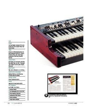 Clavia Nord C2D – Doppel-Update der Zugriegel-Orgel