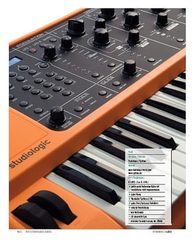 Studiologic Sledge – Synthesizer