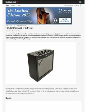 Fender Mustang II V.2