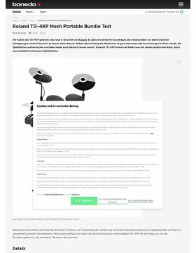 Roland TD-4KP Mesh Portable Bundle Test