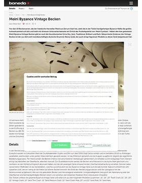 Meinl Byzance Vintage Cymbals