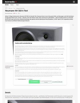 Neumann KH 310 A Test