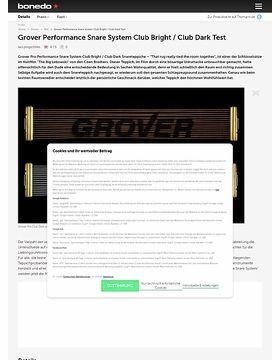 Grover Pro Club Snareteppiche Test