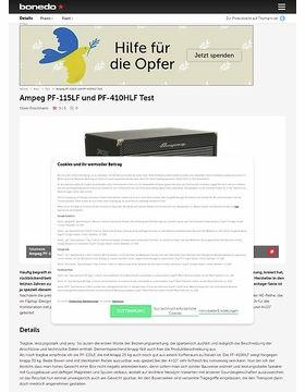 Ampeg PF-115LF und PF-410HLF Test