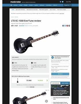 LTD EC-1000 EverTune