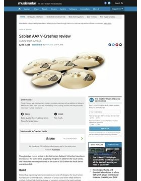 Sabian AAX V-Crashes