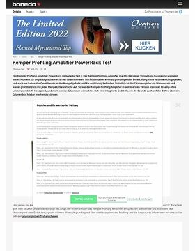 Kemper Profiling Amplifier PowerRack Test