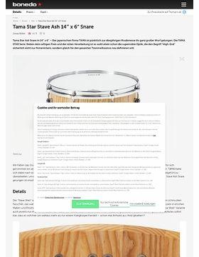 Tama Star Stave Ash 14