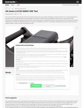 HK Audio LUCAS NANO 300 Test