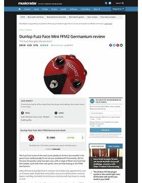 Dunlop Fuzz Face Mini FFM2 Germanium