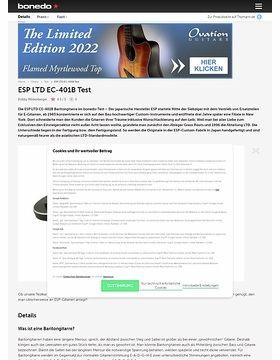 LTD EC-401 Black