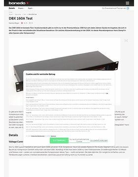 DBX 160A Test