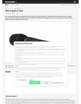 DPA d:facto II Test