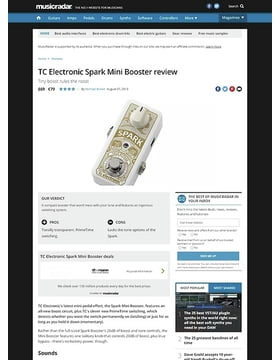 TC Electronic Spark Mini Booster
