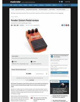 Fender Distort Pedal