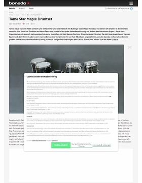 Tama Star Maple Drumset