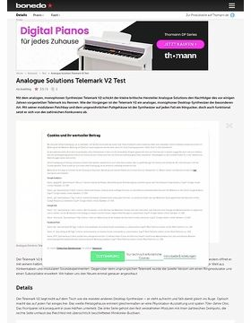 Analogue Solutions Telemark V2 Test