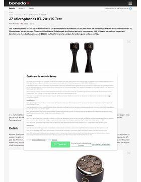 JZ Microphones BT-201/1S Test